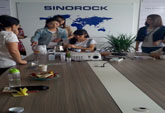 Tea Art and Wine Training in Sinorock