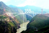 World's Highest Railway Bridge - Chenab River Bridge